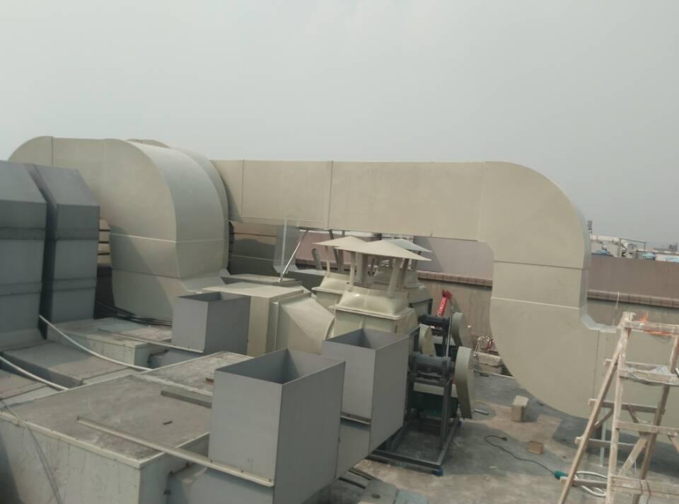 通风系统工程现场照片