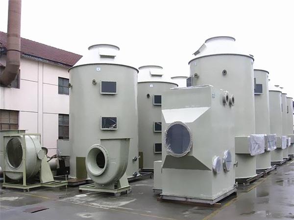 pp喷淋塔净化废气为保护环境出一份力
