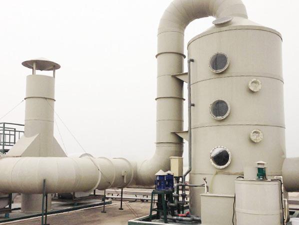 一窥喷淋塔净化废气的核心工作点