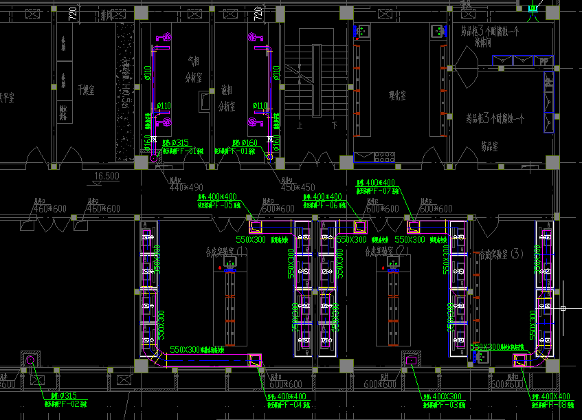 实验室施工图纸-2