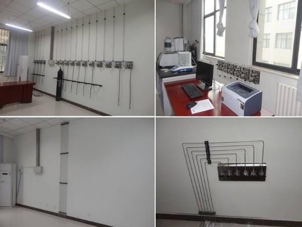 实验室管道系统布置模式